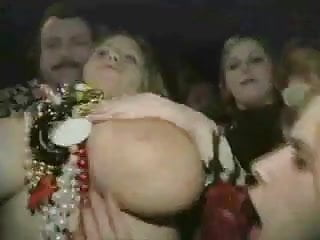 Mardi gras sex pics Big boob girl flashing on mardi gras