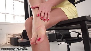 Tina Kay Can Get Away With Everything Thanks To Her Feet
