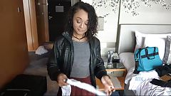 Hot date with Holly Hendrix after a deep creampie
