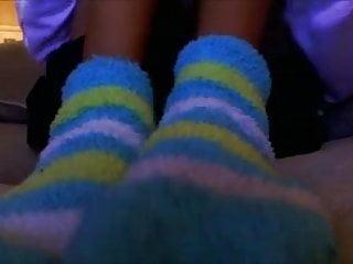Xxx warm and fuzzy Fuzzy socks pov