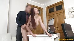 Fake Agent does awesome photo shoots and sexy models get fucked
