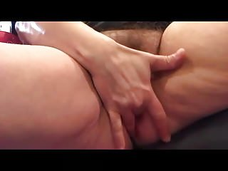 Hairy pussy mature squirts tube - Horny mature fucks her hairy squirting pussy