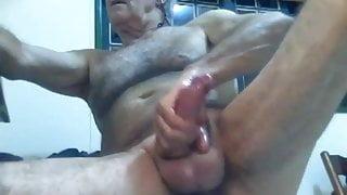 Big Veiny Dick Grandpa Cumming