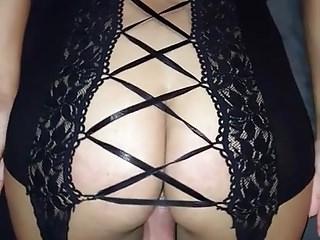 Girl in sexy lingerie fucking video Hot ass wife fucking in sexy lingerie