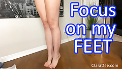 The Chastity Games - Focus on Feet JOI Game by Clara Dee