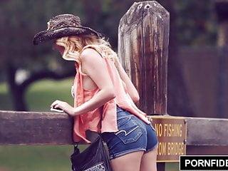 Tits perky anime Pornfidelity perky titted bikini babe iris rose creampied