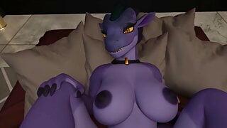 Dragon Girl Gets Bred - POV