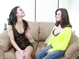 How to fuck your teen daughter Milf mom show step-daughter how to fuck and lost virgin