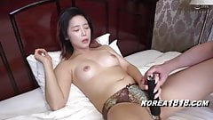 Korean porn model gets fucked by ugly Japanese guy