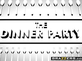 Linda starr stripper Brazzers - real wife stories - the dinner party scene starr
