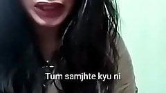 Ajina Menon Sexy Big Boob Tik Tok Actress With A Boy