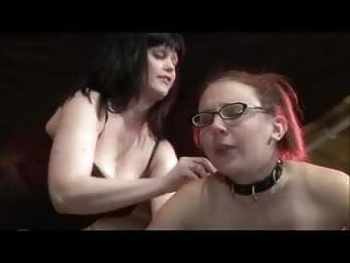 Milf lesbians glasses - Lesbian daughter in glasses spanked and toyed