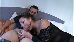 Lauraine, very hot french milf gets fucked on camera