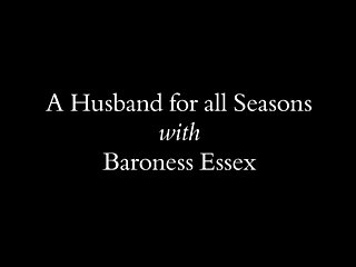 Husband showing wife pussy to all A husband for all seasons