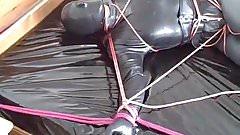 In total rubber bondage