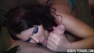Slut fucked on NYE