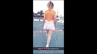 Flashing and Sex in Cap d'Agde