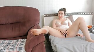Two fat ass girls collect money on webcams to rent an apart