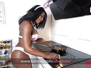 Josie thomas naked Visit-x hot josy-black gets fucked by buddy on the kitchen