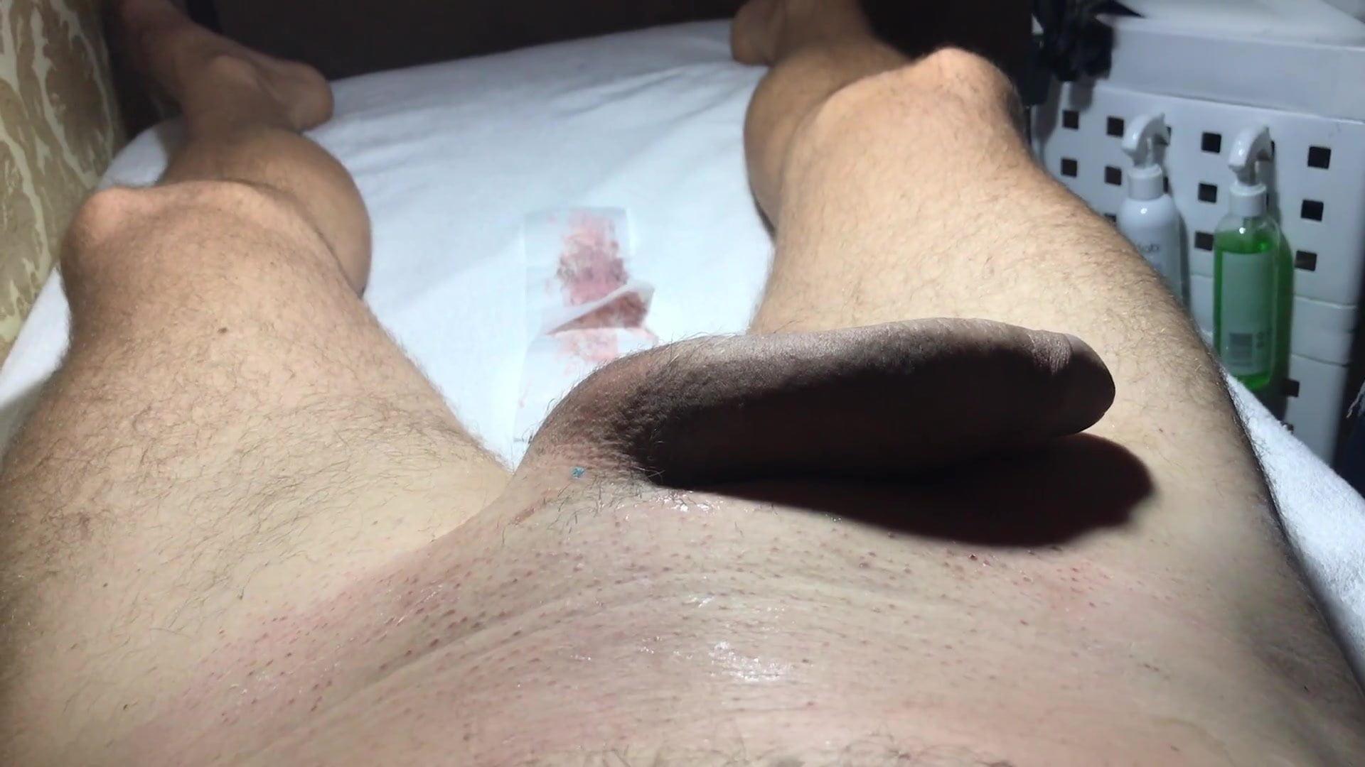 Brazilian sex waxing