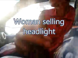 2009 subaru legacy headlights suck - Woman selling headlight