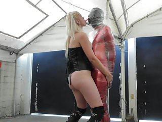 Auto erotic asphixation Sadobitch - d bizarre bondage, kicks, asphix - plastic wrap