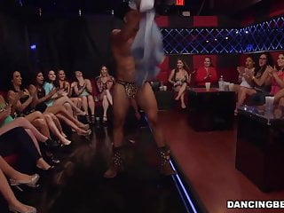 Husband stripper Lucky male strippers get sucked by horny chicks
