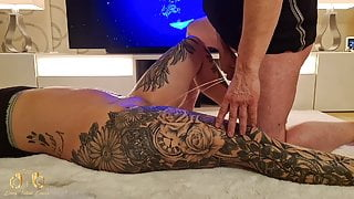 CrazyFetishCouple - Dirty Piss Session on the carpet