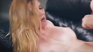 Hot Lebsian Milf fucks with a Dildo on Visitmymilf