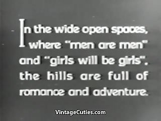 Young girl boy sex storys - Mustached boy fucks 2 young petite girls 1910s vintage