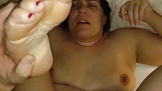 Becky's hung married friend fucks her speechless