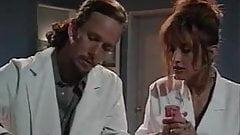 Leena, Asia Carrera, Tom Byron in vintage sex movie