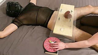 Wheel of Fortune #1 - CBT - Orgasm - Post orgasm torture