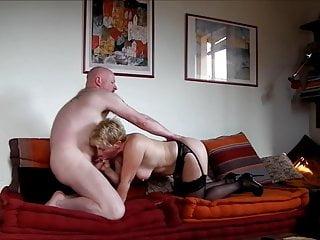 My cum 49yo milf fucks for my cum on her ass
