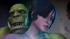 Ada wong vs the hored
