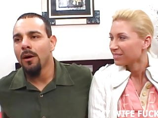 Watch your wife get fucked Watch your hot wife getting pounded by a pornstar