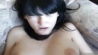 Sweet young amateur fucked by older guy