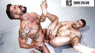 Raging Stallion - Stud Sean Maygers Fucks His Teammate Hard