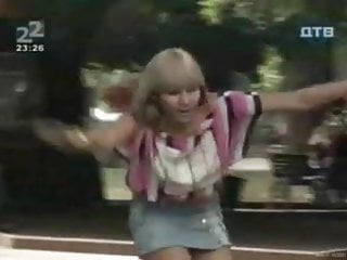 Rollerblade fuck video Topless rollerblading prank