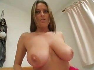 Boob has huge she She has huge tits, getting off