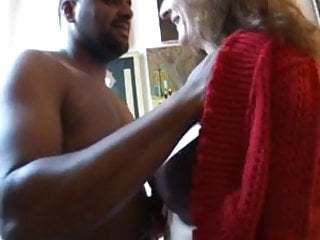 Celine interracial French mature celine anal fucked