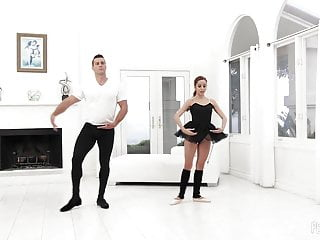Ballerina porn sex Petite ballerina vanna gets a rough fuck from her teacher