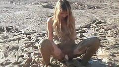masturbation in the mud