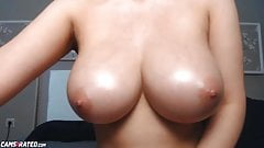 Big Natural Tits Teasing Cocks Live