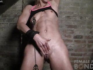 Female masturbation nipples licking - Female muscle cougar nipple and clit clamps