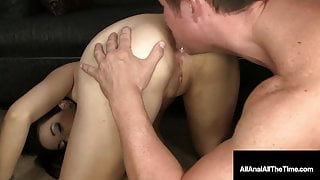 18 yo Young New Yorker Aria Rae Gets Pounded In The Butt!