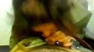 Persian Girl sucking cock in tent