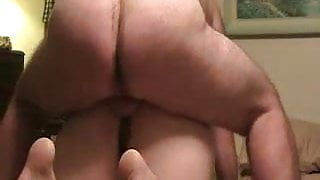 Hairy BBW chick gets fucked