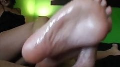 Chasey's First Footjob