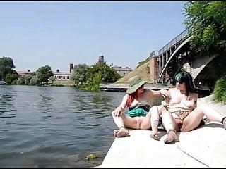 Los vegas tv stars naked - Cecilia and vega bausch barefoot naked